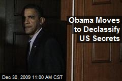Obama Moves to Declassify US Secrets