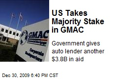 US Takes Majority Stake in GMAC