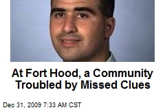 At Fort Hood, a Community Troubled by Missed Clues
