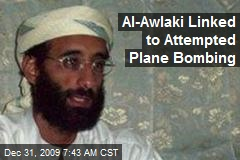 Al-Awlaki Linked to Attempted Plane Bombing