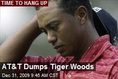 AT&T Dumps Tiger Woods