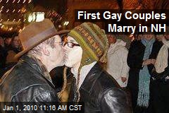 First Gay Couples Marry in NH
