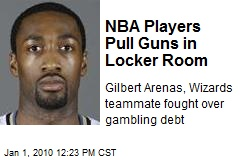 NBA Players Pull Guns in Locker Room