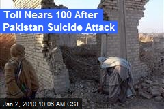 Toll Nears 100 After Pakistan Suicide Attack