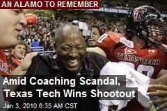 Amid Coaching Scandal, Texas Tech Wins Shootout