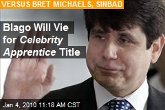 Blago Will Vie for Celebrity Apprentice Title