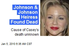 Johnson & Johnson Heiress Found Dead