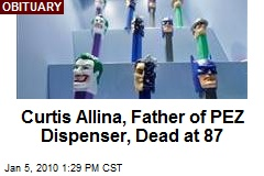 Curtis Allina, Father of PEZ Dispenser, Dead at 87