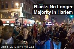 Blacks No Longer Majority in Harlem