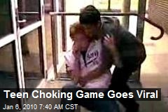 Teen Choking Game Goes Viral
