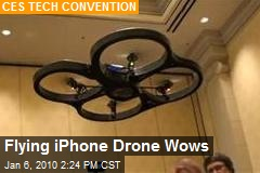 Flying iPhone Drone Wows