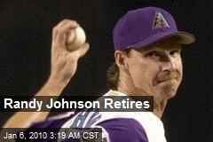 Randy Johnson Retires