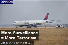 More Surveillance = More Terrorism