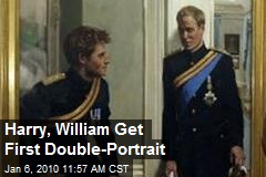 Harry, William Get First Double-Portrait