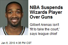 NBA Suspends Wizards Player Over Guns