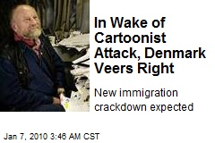 In Wake of Cartoonist Attack, Denmark Veers Right