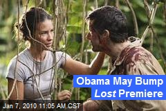Obama May Bump Lost Premiere