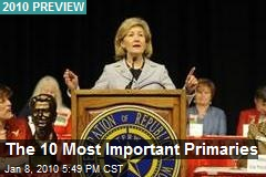 The 10 Most Important Primaries