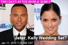 Jeter, Kelly Wedding Set?