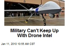 Military Can't Keep Up With Drone Intel