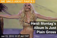 Heidi Montag's Album Is Just Plain Gross