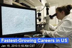 Fastest-Growing Careers in US