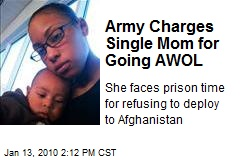 Army Charges Single Mom for Going AWOL
