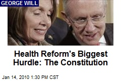 Health Reform's Biggest Hurdle: The Constitution