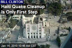 Haiti Quake Cleanup Is Only First Step