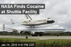 NASA Finds Cocaine at Shuttle Facility