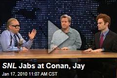 SNL Jabs at Conan, Jay