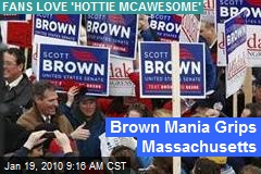 Brown Mania Grips Massachusetts