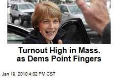 Turnout High in Mass. as Dems Point Fingers