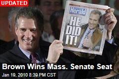 Brown Wins Mass. Senate Seat