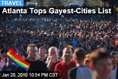 Atlanta Tops Gayest-Cities List