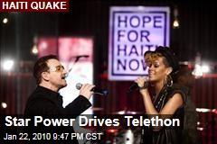 Star Power Drives Telethon
