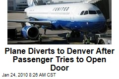 Plane Diverts to Denver After Passenger Tries to Open Door