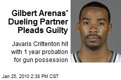 Gilbert Arenas' Dueling Partner Pleads Guilty