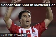Soccer Star Shot in Mexican Bar