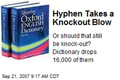 Hyphen Takes a Knockout Blow
