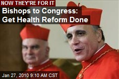 Bishops to Congress: Get Health Reform Done