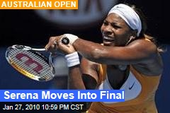 Serena Moves Into Final