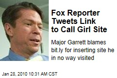 Fox Reporter Tweets Link to Call Girl Site