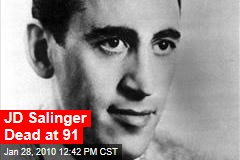 JD Salinger Dead at 91