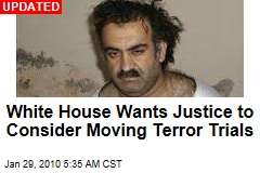 White House Wants Justice to Consider Moving Terror Trials