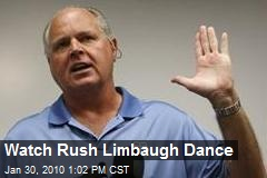 Watch Rush Limbaugh Dance