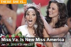 Miss Va. Is New Miss America