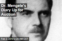 Dr. Mengele's Diary Up for Auction