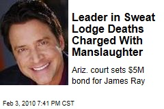 Leader in Sweat Lodge Deaths Charged With Manslaughter