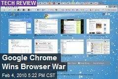 Google Chrome Wins Browser War